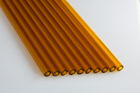 Devardi Glass COE 33 Boro Tubes 10 Jade Green 8mm Borosilicate 12 Tubing
