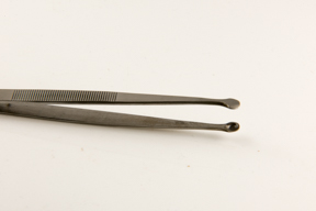 Angled Stamp Holding 4 14 Tweezers FOIL /& LEAF Stainless Steel Lampworking